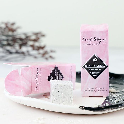 Beauty Kubes Shampoo Cubes Sample/Travel Size – Normal To Dry Hair