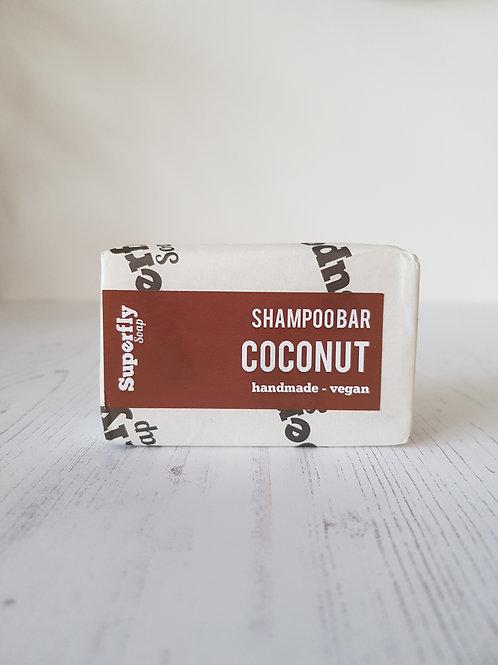 Superfly soap coconut shampoo bar