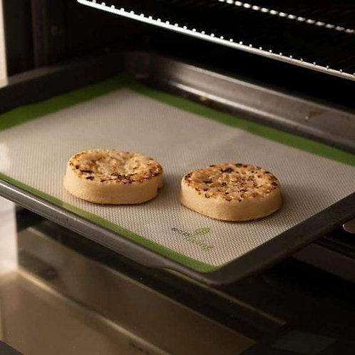 Eco Living Reusable Silicone Baking Liner in oven