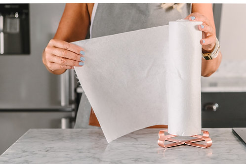 EcoBees Reusable Kitchen Roll ready to use