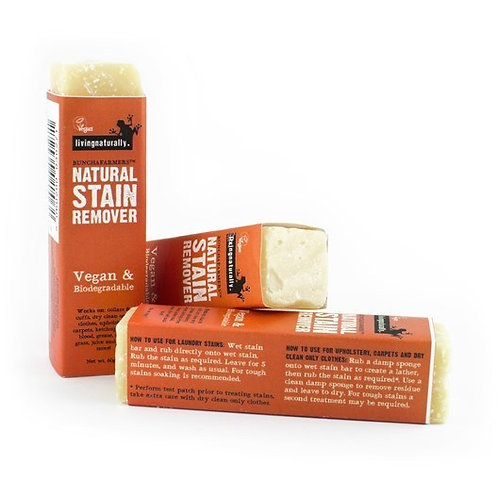 Living Naturally natural stain remover bar