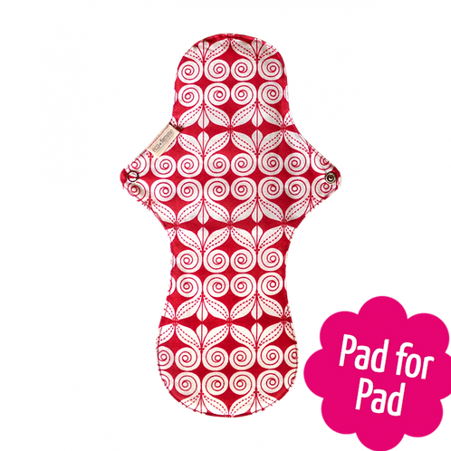 Eco femme organic night pad front image