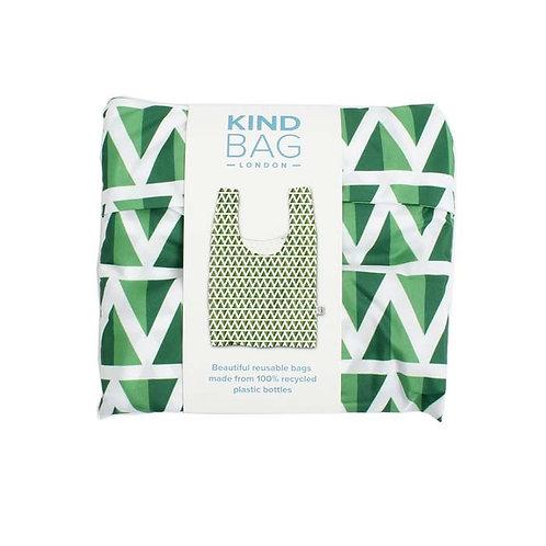 Mint Reusable Shopping Bag - Kind Bag in packaging