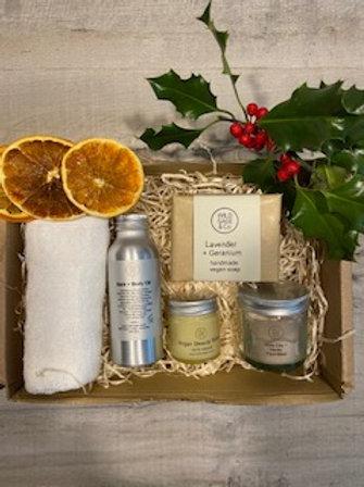 Natural Face & body Gift Set - Eco Green Revolution