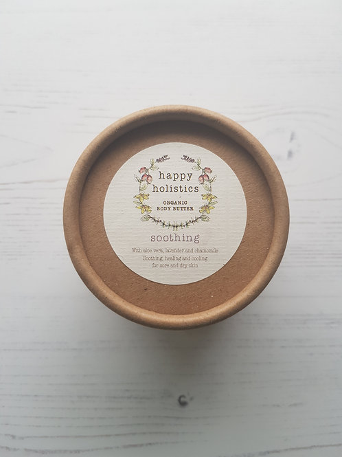 Happy Holistics soothing body butter organic