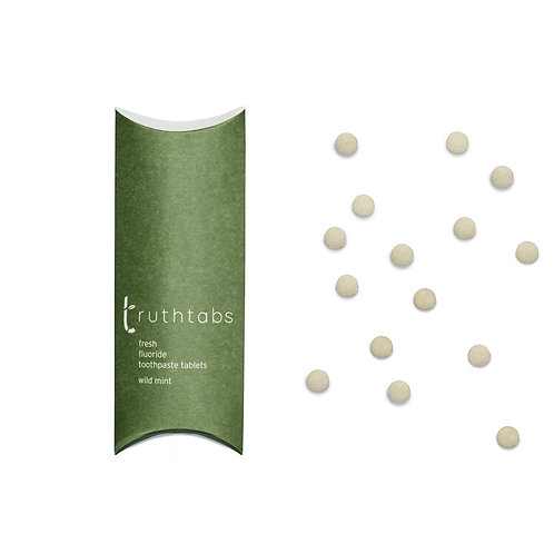 Wild Mint Truthtabs - Toothpaste Tablets - Truthbrush