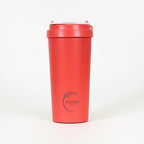 Coral Eco Friendly Rice Husk Travel Cup - 500 ml - Huski Home