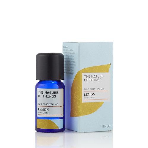 Organic Lemon Essential Oil 12ml The Nature Of Things
