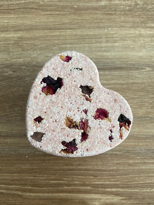 Natural Handmade Plastic Free Vegan Bath Fizzy Rose Garden - Little Blue Hen