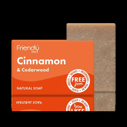 Cinnamon & Cedarwood Soap Bar Friendly Soap