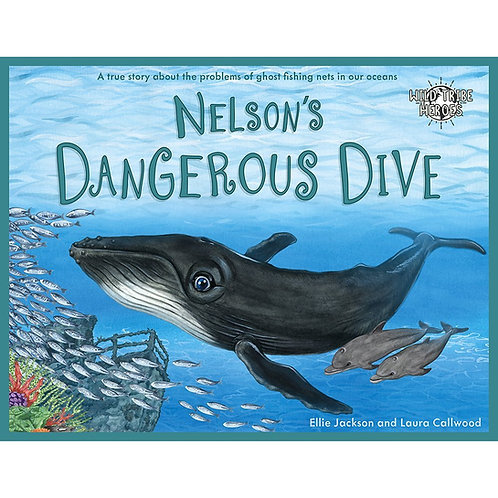 Wild Tribe Heroes Nelson's Dangerous Dive Children's Story Book by Ellie Jackson