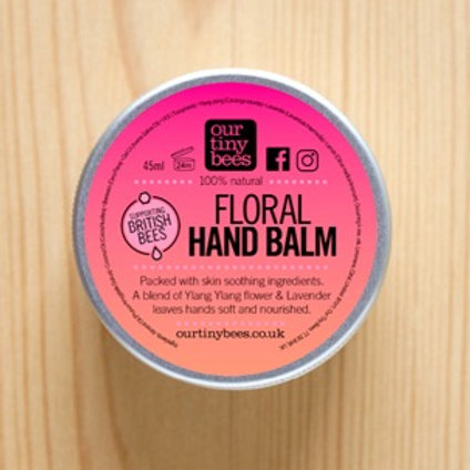 Our Tiny Bees Floral Hand Balm