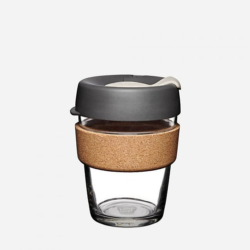 Keepcup brew cork edition soft charcoal 12oz