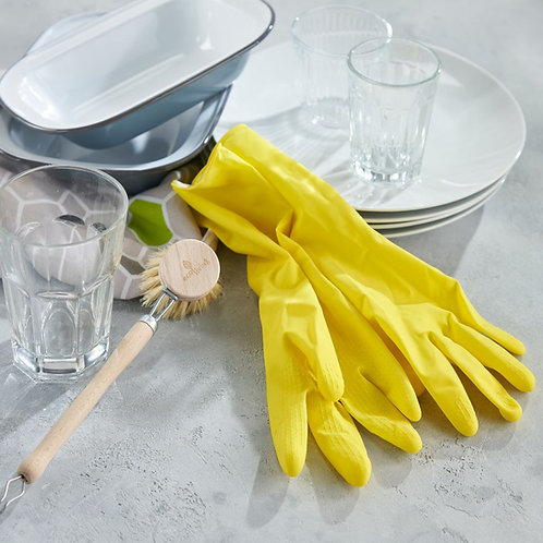 Natural Latex Rubber Gloves - Eco Living