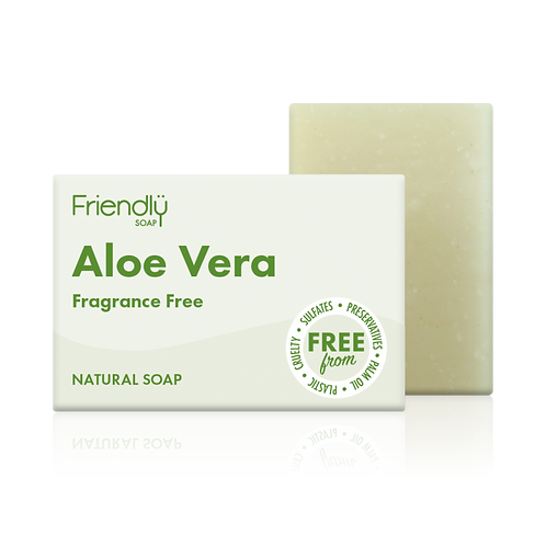 Friendly Soap Aloe Vera Vegan Soap Bath Bar Natural Handmade Soap