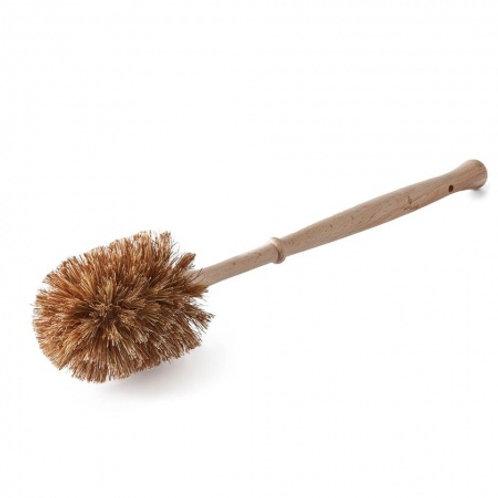 Eco Living smaller plastic free toilet brush plant based bristles
