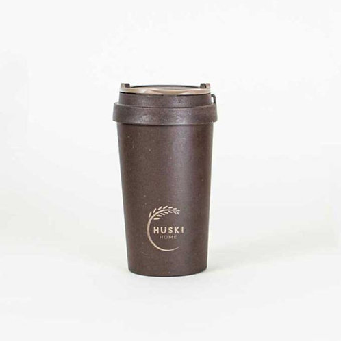 Eco Friendly Coffee Husk Travel Cup in Coffee 400ml - Huski Home