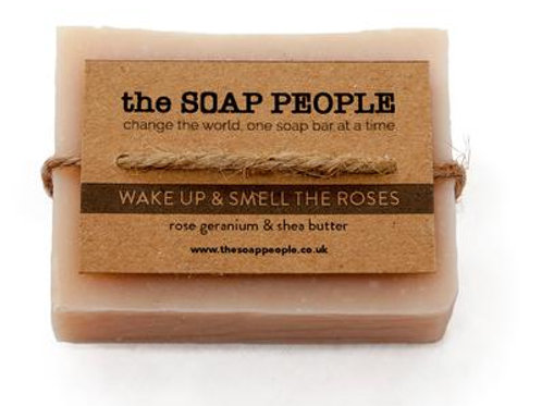 Wake Up & Smell the Roses Soap Bar - The Soap People
