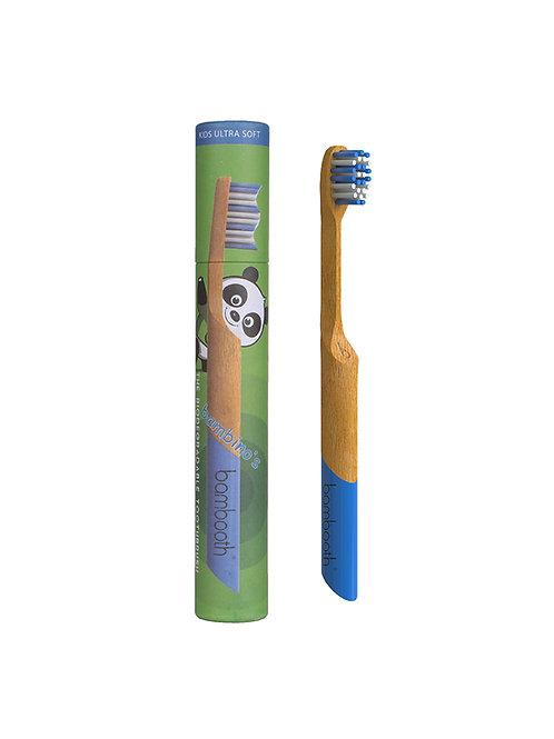 Kids Bamboo Toothbrush - Sea Blue - Bambooth