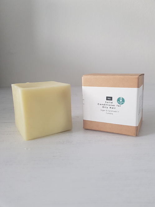 Bain and Savon Solid Conditioner Bar Oily out of box