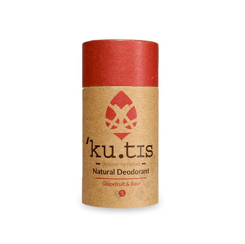 Grapefruit & Rose Natural Deodorant Kutis Skincare 55g
