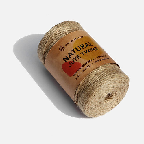 Natural Jute Twine in packaging Zero Waste Club