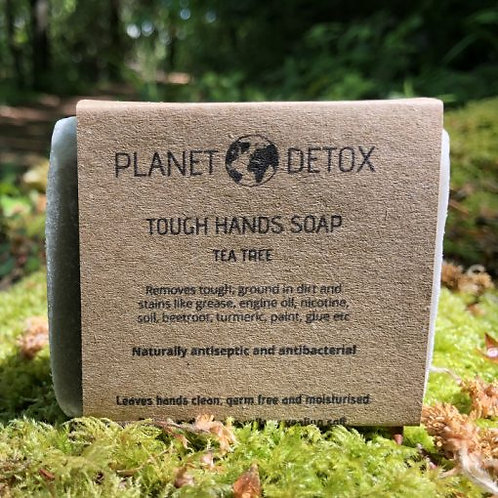 Planet Detox Tough Hands Natural Antibacterial Soap