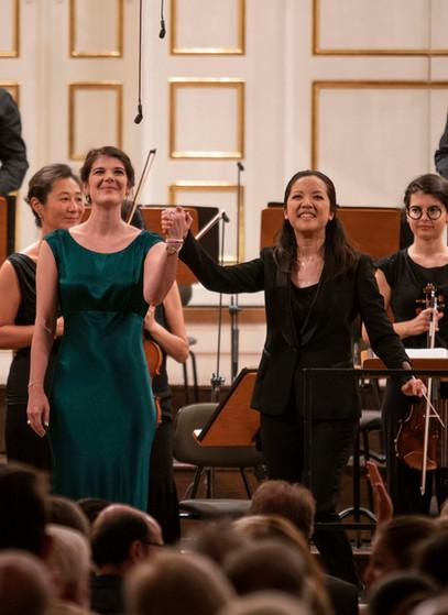 Salzburg Young Conductor's Award with Erina Yashima