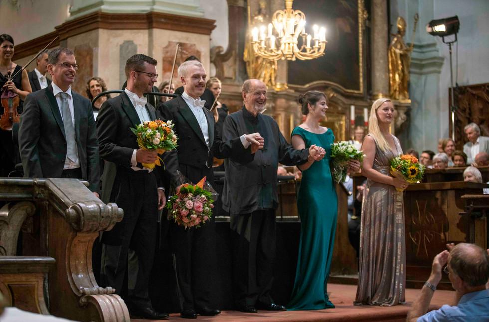 Mozart C Minor Mass, Salzburg Festival with Sir Roger Norrington and Camerata Salzburg 2018