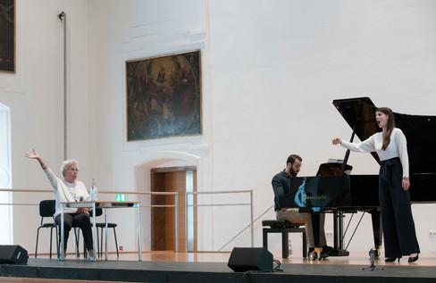 Masterclass with Christa Ludwig Salzburg Festival YSP 2018