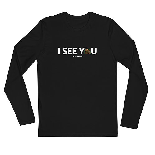 """TDP """"I See You"""" Long Sleeve Fitted Crew"""