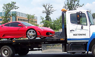 Towing services in low mainland