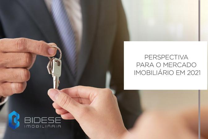 Perspectivas para o mercado imobiliário para 2021 são animadoras