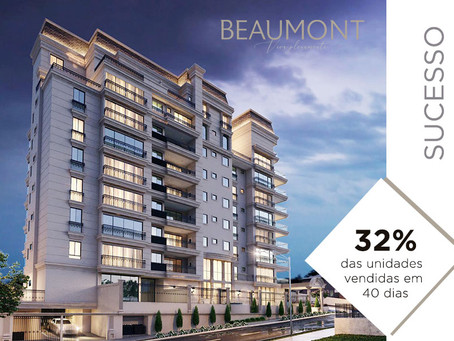 Beaumont: pré-lançamento supera as expectativas de vendas