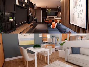 Apartamentos planejados: como criar ambientes para diferentes estilos