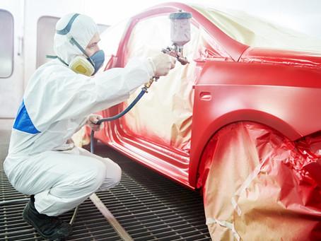 Repintura de um carro: conheça o processo e a importância de cada etapa