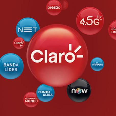 Unificação das marcas: NET agora é Claro