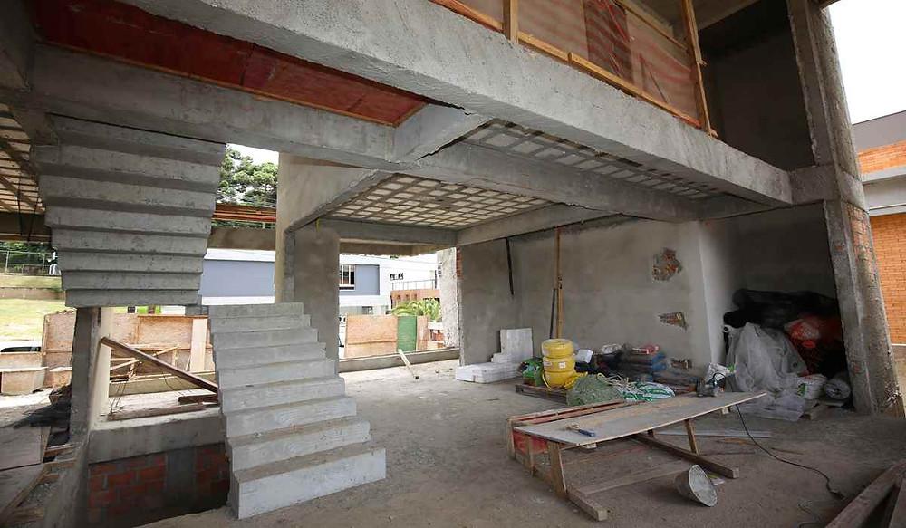 residência em construção