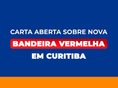 Carta aberta sobre Nova Bandeira Vermelha em Curitiba