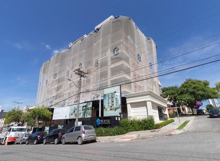 Edifício Beaumont chega a 75% da etapa de alvenaria concluída