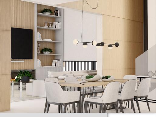 Projeto de Interiores: funcionalidade para o dia a dia e conforto para recepções