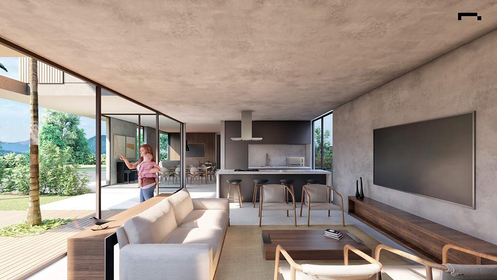área interna acr residence
