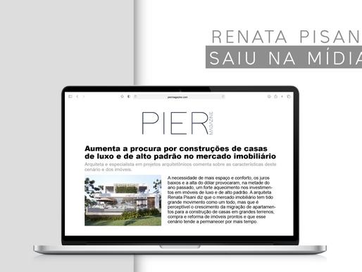 Matéria com Renata Pisani é destaque na imprensa
