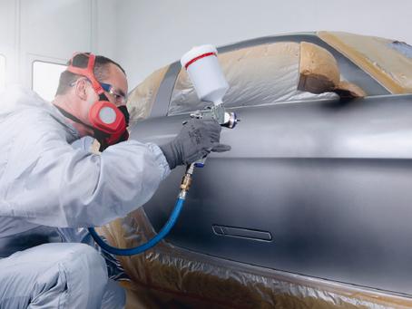 Conheça o passo a passo da repintura automotiva