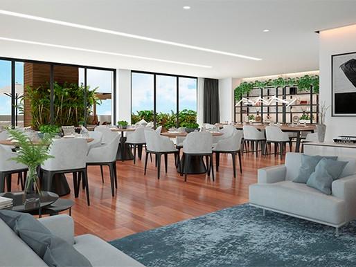 Renata Pisani projeta áreas comuns e decorado do Edifício Reggia, da Porto Camargo