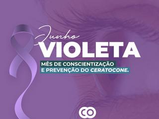 Junho Violeta: Sete respostas esclarecedoras sobre o Ceratocone