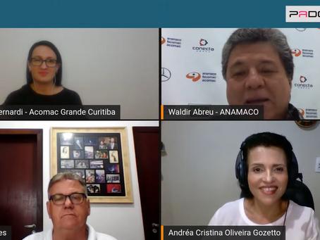 Acomac Curitiba participa da Anamaco Talks sobre a importância das relações governamentais