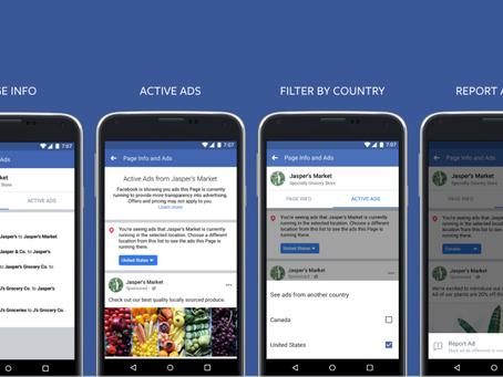 Novidades no Facebook mudam privacidade dos anúncios na plataforma: conheça as alterações
