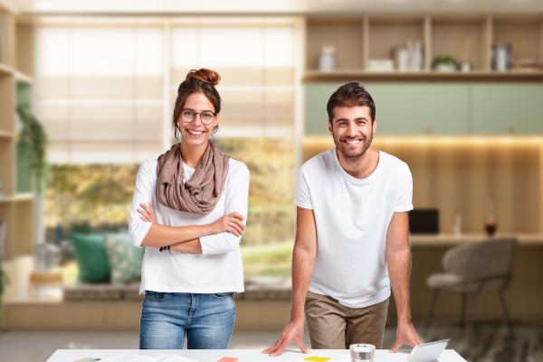Clientes ganham com a boa relação entre os profissionais do ramo de móveis