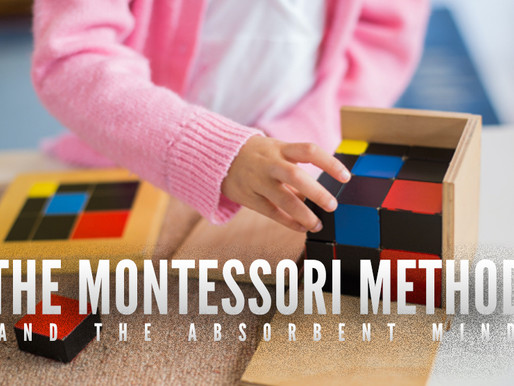 The Montessori Method and the Absorbent Mind